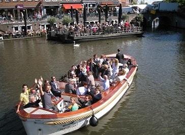 Boat Tours Rembrandt in Leiden