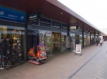 Mall Luifelbaan in Leiden