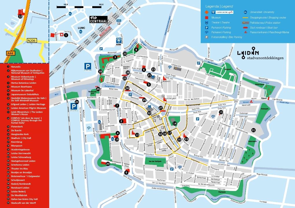 Leiden Map